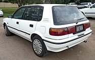 Facelift Corolla CSi Limited 5 Door Australia