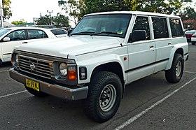 1989 nissan patrol