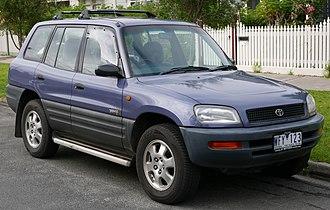 Toyota RAV4 - Pre-facelift Toyota RAV4 5-door (Australia)