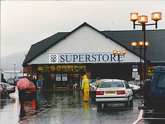 The Co-operative Group - The Co-op superstore Lisburn Road, Belfast, shown here in 1996.