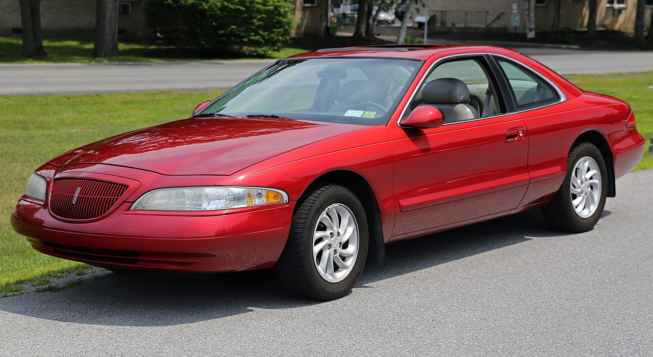 Px Lincoln Mark Viii Lsc In Red C Front Left