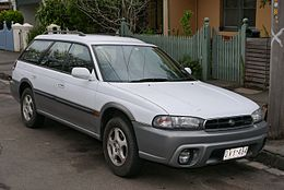 1998 Subaru Outback (BG9 MY98) station wagon (2015-06-18) 01.jpg