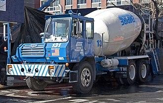 Crane Carrier Company - A 1999 CCC Century II concrete mixer