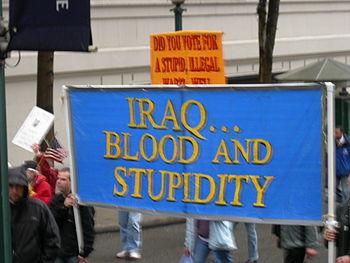 Anti-war demonstration, Seattle, Washington, 1...