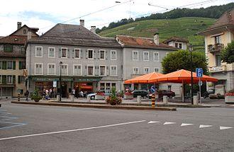 Bex - Plaza in Bex