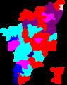 2004 tamil nadu lok sabha election map by parties.png