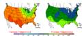 2006-05-19 Color Max-min Temperature Map NOAA.png