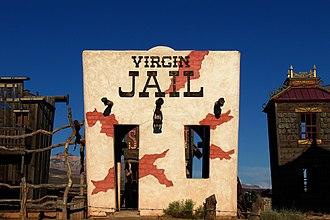 Virgin, Utah - Image: 2006 08 19 United States Utah Virgin Jail