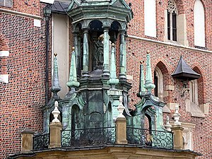 Canopy (building) - A canopy from Kraków, Poland.