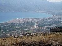 2007 Greece Corinthian Gulf & Corinth.jpg