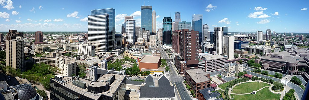 Minneapolis By Bobak Ha'Eri [CC BY 3.0  (https://creativecommons.org/licenses/by/3.0)], from Wikimedia Commons