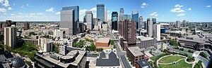 Central, Minneapolis - Skyline of Minneapolis