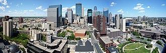 Central, Minneapolis - The skyline of Minneapolis.