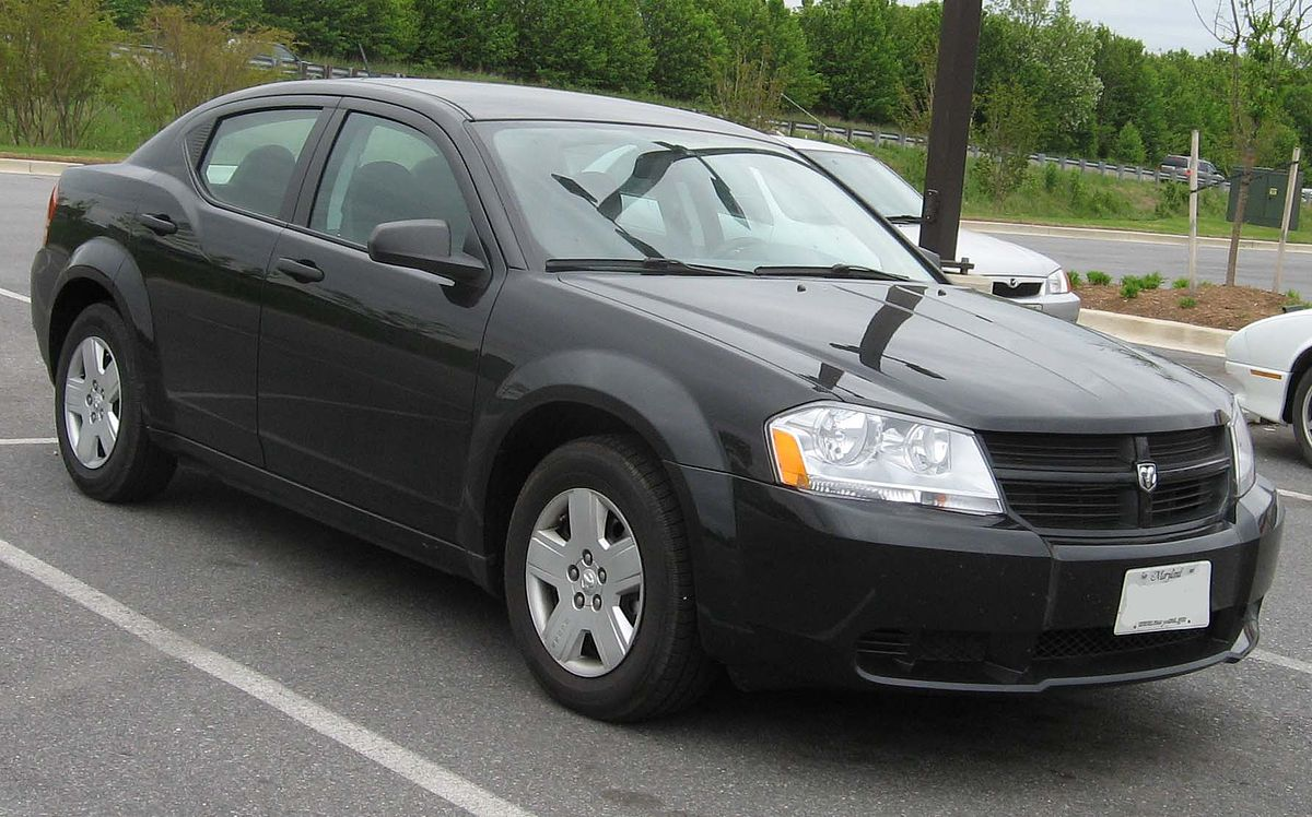 Dodge Avenger Vikipedija