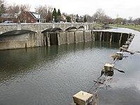 2008 03 28 - Frederick - Carroll Creek at MD 355 (N Bentz St) 1.JPG