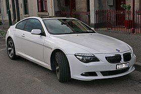 2008 BMW 650i (E63 MY08) coupe (2015-07-16) 01.jpg