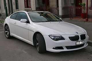 BMW 6 Series (E63) Motor vehicle