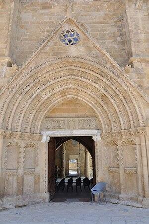 Bedesten, Nicosia - The entrance of Bedesten