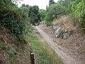 2010-08-13 Cerveteri Necropoli Banditaccia 100 0371 Sepolcrale inferi tumulo colonnello.jpg