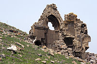 20110419 Ruins in Citadel Ani Turkey 1.jpg