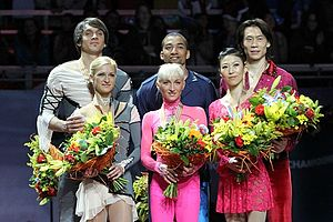 2011 World Figure Skating Championships - The pairs medalists