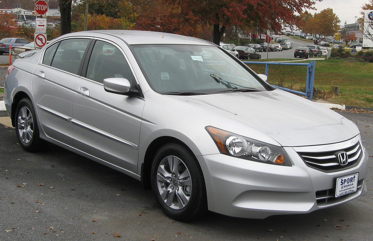 File 2012 Honda Accord Se Sedan 11 10 2011 Jpg Wikimedia Commons
