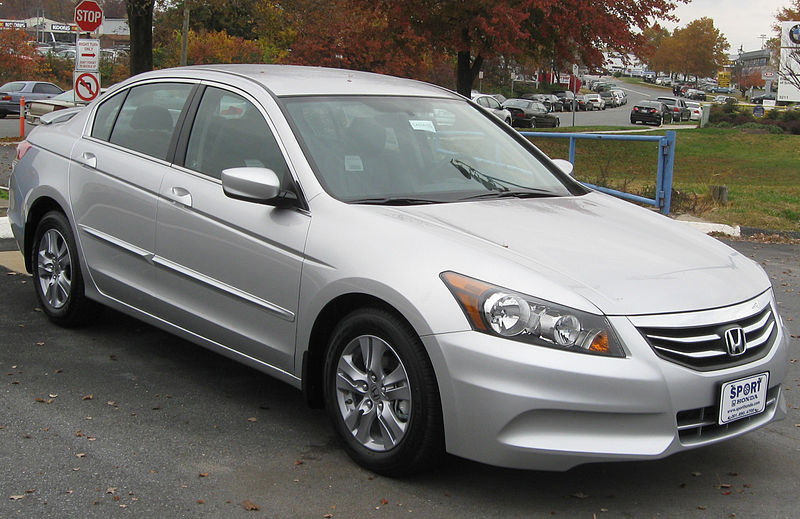 File:2012 Honda Accord SE sedan -- 11-10-2011.jpg