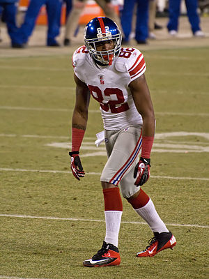 Mario Manningham - Mario Manningham on January 15, 2012 in a game against the Green Bay Packers.