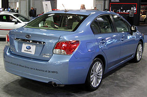 2012 Subaru Impreza sedan -- 2012 DC rear.JPG