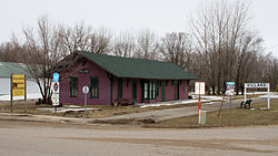 The 1882 Northern Pacific Depot is listed on the National Register of Historic Places.