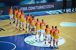 Spain women's national basketball team - Spain squad at the 2014 FIBA World Championship for Women.
