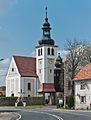 2014 Kamienica, kościół św. Jerzego 03.JPG