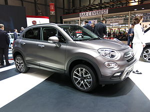 Fiat 500X - Fiat 500X Trekking version