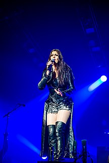 Floor Jansen Dutch singer and songwriter