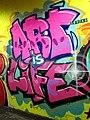 2015 191st Street IRT station tunnel Art Is Life.jpg