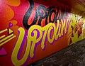 2015 191st Street IRT station tunnel Uptown! Uptown!.jpg