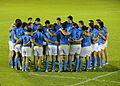 2016 Americas Rugby Championship - Uruguay vs Argentina XV - Huddle.JPG