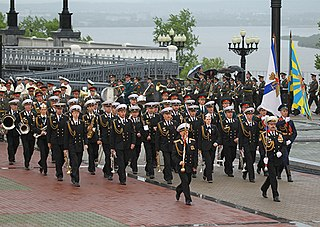 Russian military bands Wikipedia list article