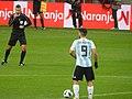 2017 FRIENDLY MATCH RUSSIA v ARGENTINA - Agüero kick-off.jpg