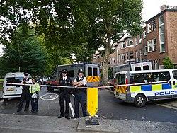 Bomaanslag in Londense metro op 15 september 2017