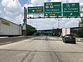 2018-07-16 12 43 48 View south along U.S. Route 1 Truck and U.S. Route 9 Truck at the exit for Interstate 95 (New Jersey Turnpike) in Newark, Essex County, New Jersey.jpg