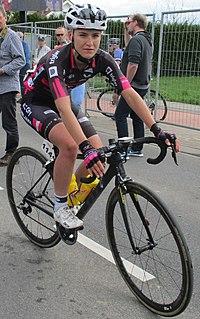 Urška Žigart Slovenian cyclist