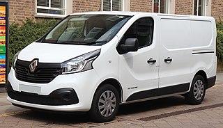 Renault Trafic light commercial van