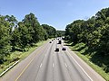 2019-07-15 10 53 38 View north along the northbound lanes of Interstate 95 from the overpass for Vollmerhausen Road on the edge of Columbia and Savage in Howard County, Maryland.jpg