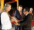 2019-08-30 Irena Cristalis bekommt den Ordem de Timor-Leste von Francisco Guterres.jpg