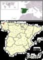 255px-La Coruna, Spain location2.png