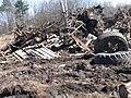 25 апреля 2010 года. Невская Дубровка. На этом снимке - свалка отходов на полях, рядом с местом строительства коттеджей. - panoramio (2).jpg
