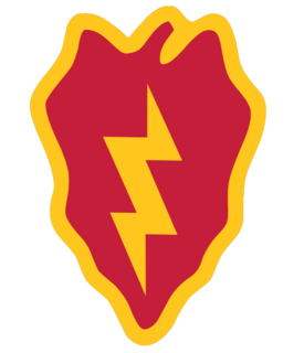 25th Infantry Division (United States) active United States Army formation
