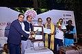 2nd Koraput Literary Festival - Day 2 - Valedictory Ceremony - Bipin Nayak Receives 2nd Koraput Literary Award for poetry.jpg