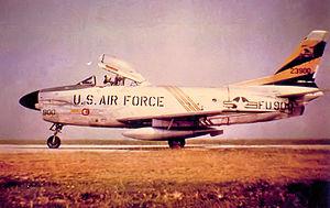 440th Fighter-Interceptor Squadron - Squadron F-86D Sabre